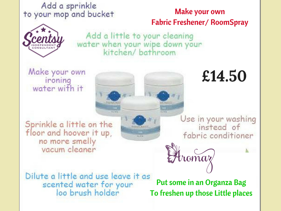 scentsy washer whiffs instructions