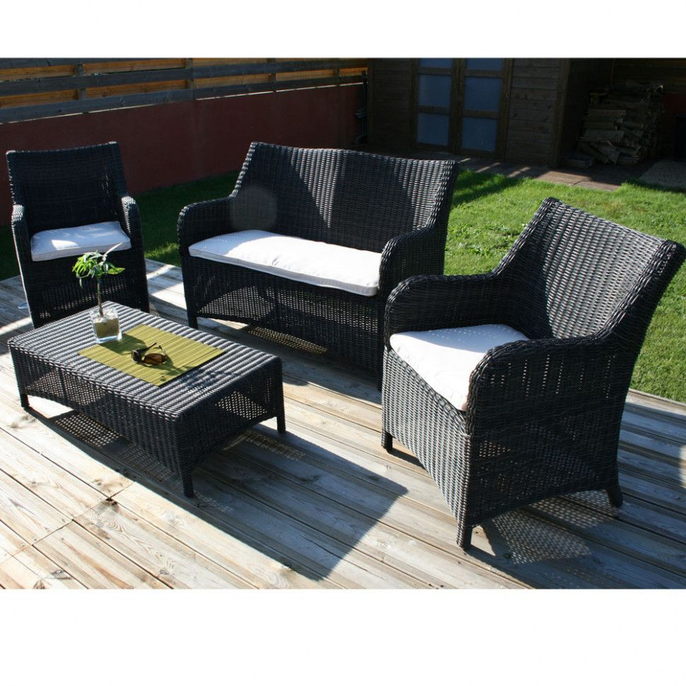 Salon De Jardin Zelie Gris With Images Outdoor Furniture Sets