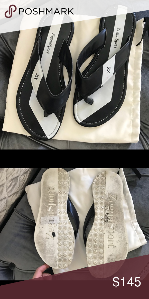 dc089886bfdbec Zegna Sandals Size 10 Ermenegildo Zegna Shoes Sandals   Flip-Flops