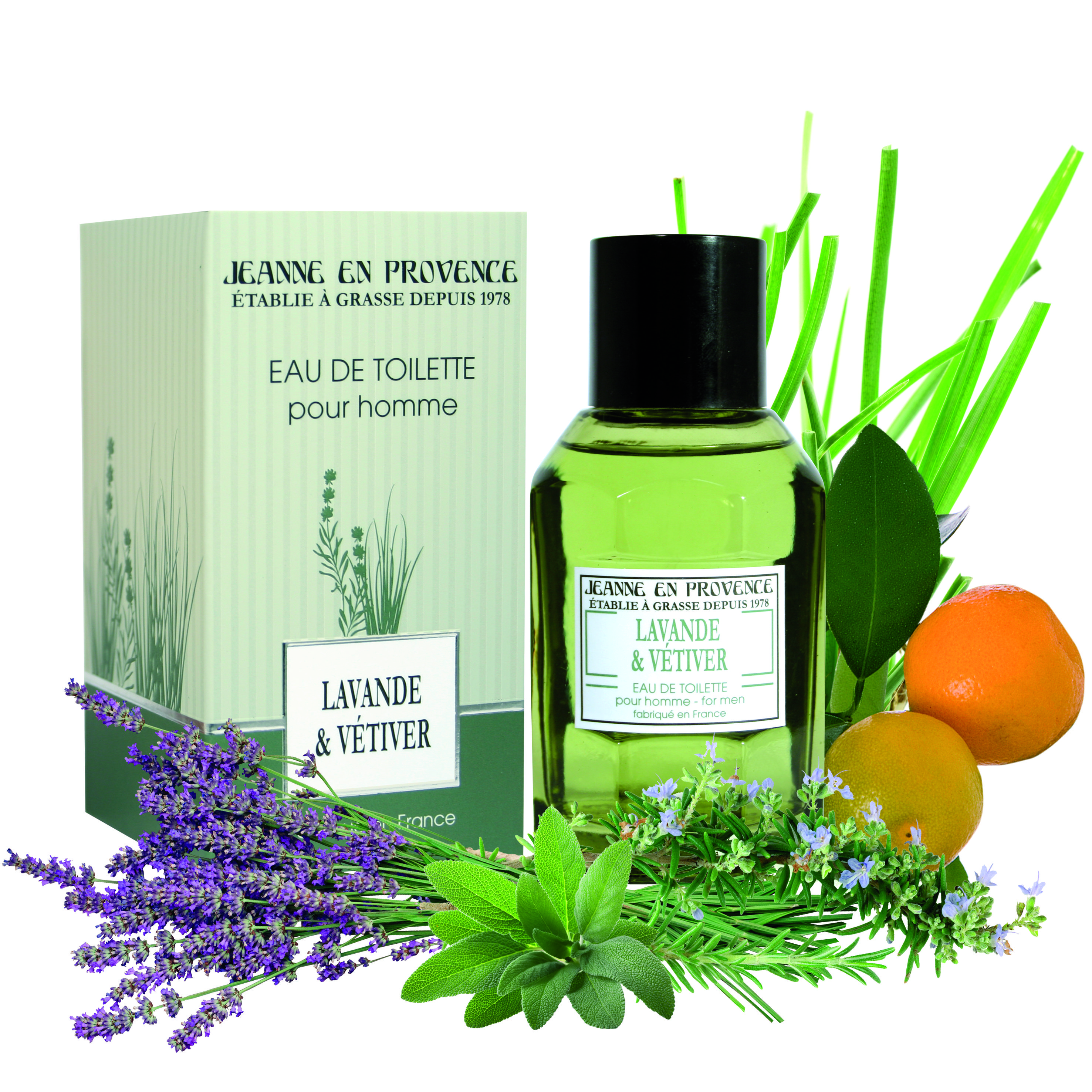Provence Homme Et Frais Un De Tel Lavandeamp; Vétiver Parfum Vent UzMSqVp