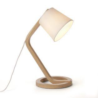 Lampe à poser design scandinave Naturel Mokuzai Les