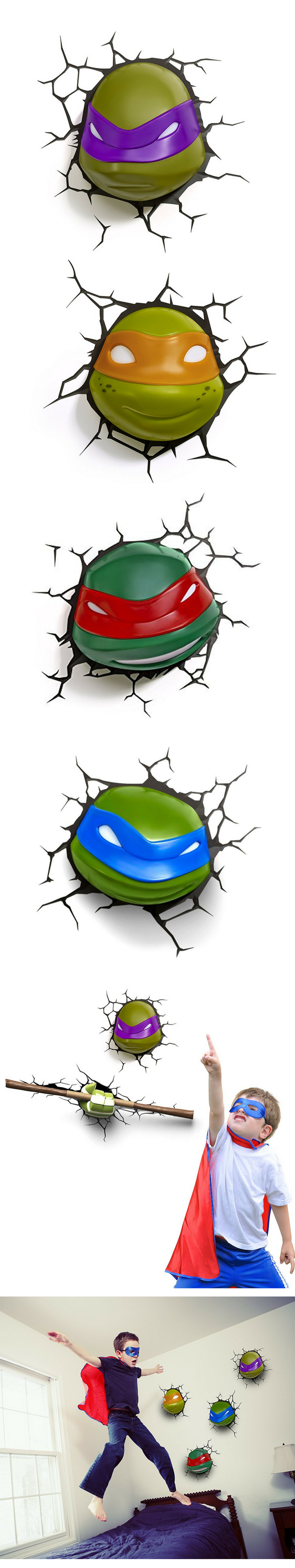 Pin Auf Kinderzimmer Ninja Turtles