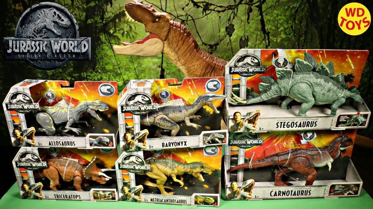 Jurassic World despotrican Tiranosaurio Rex Figura /& artroscópicos Verde