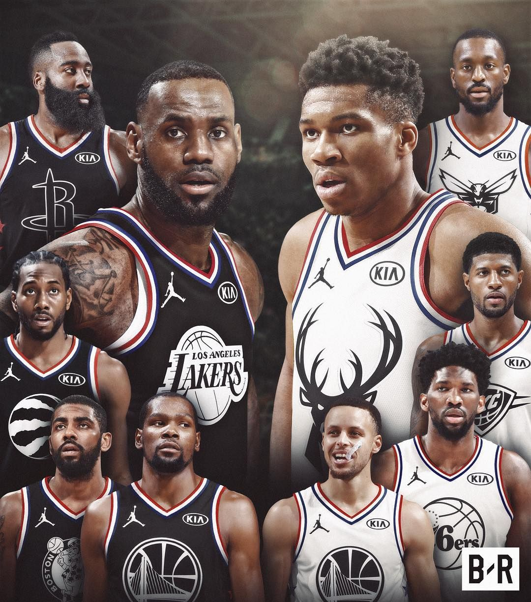 Team Bron Or Team Giannis Pinterest Adc Nba Pictures Best Nba