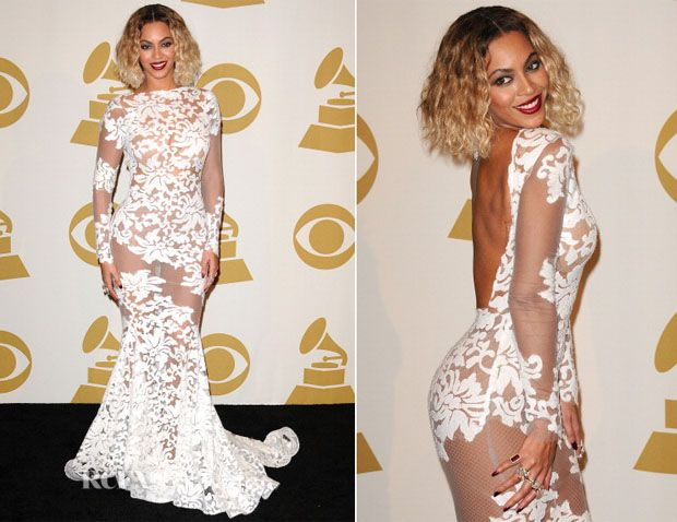 Beyonce accessorized her Michael Costello gown with $10 million ...