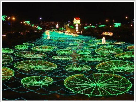 Lights Decorations Callaway Garden Christmas Light Green Beautiful