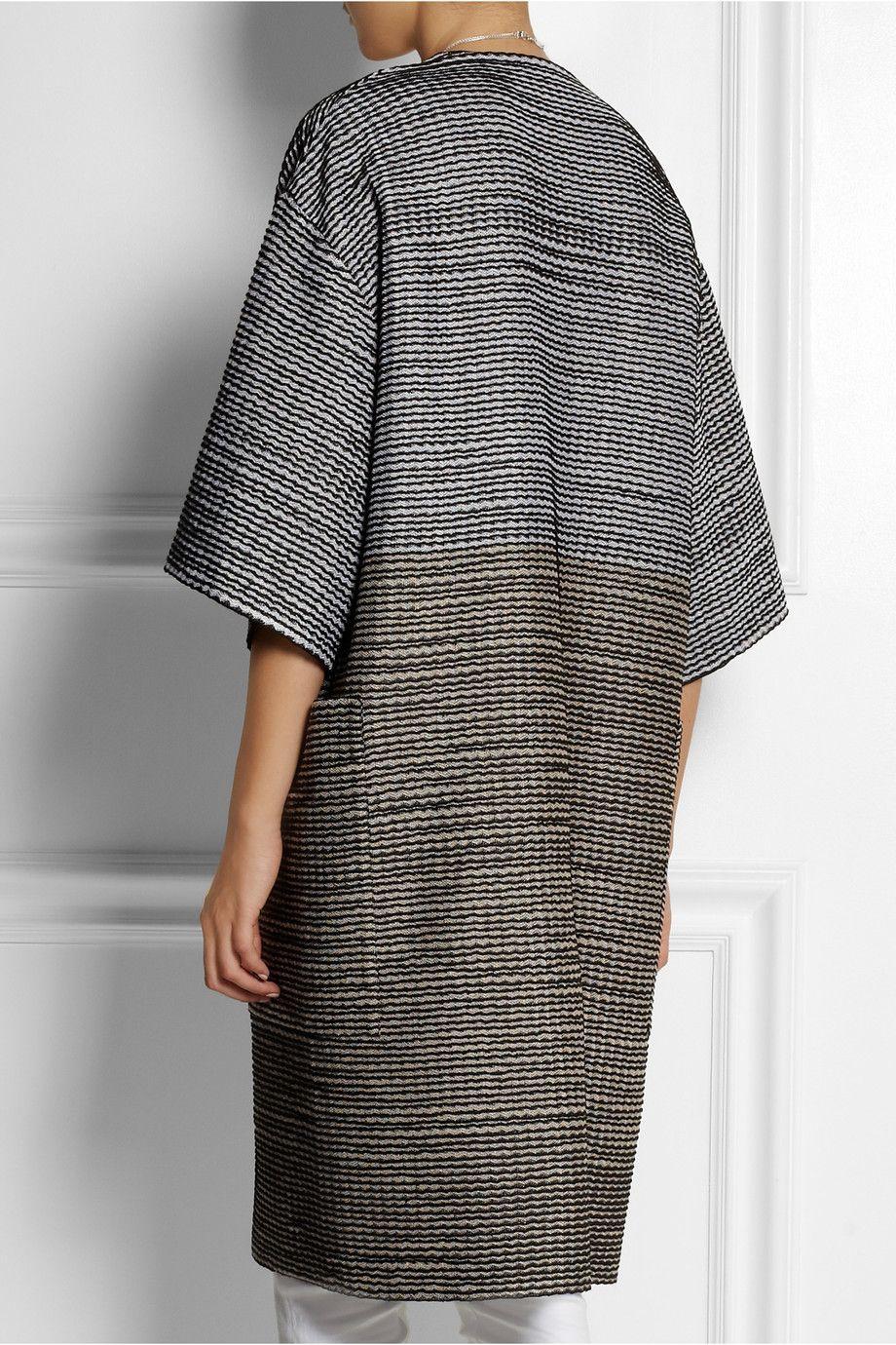 MissoniOversized crochet-knit coat
