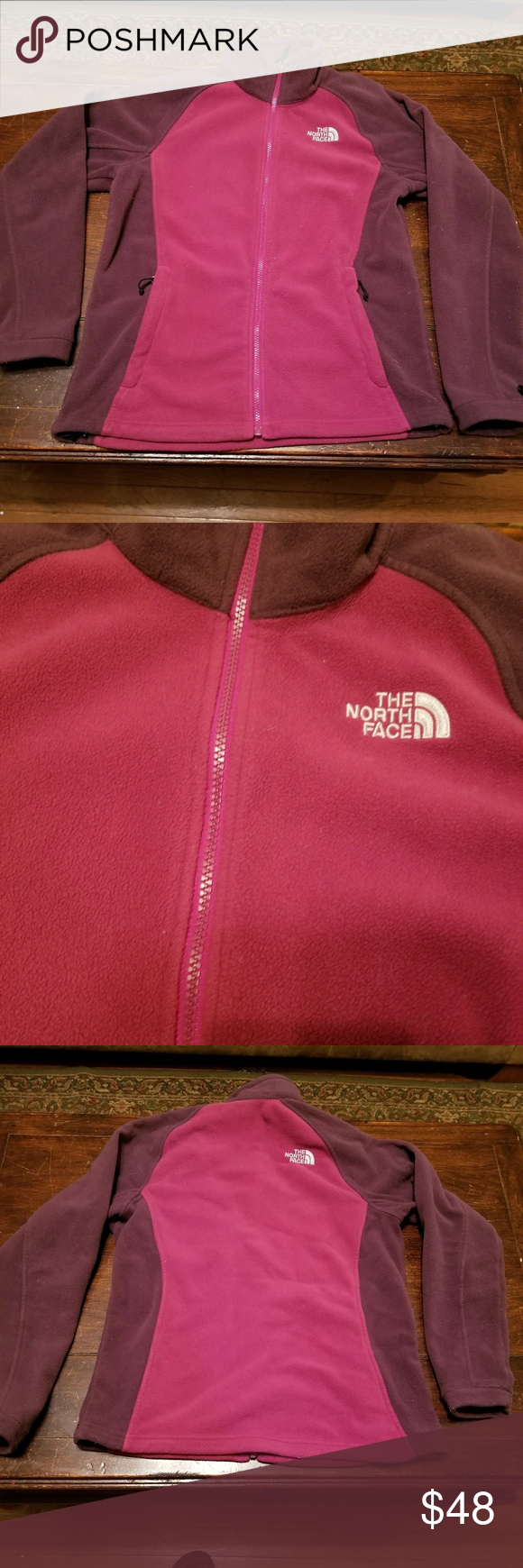 Pink Maroon Northface Jacket North Face Jacket Womens North Face Jacket Clothes Design [ 1740 x 580 Pixel ]