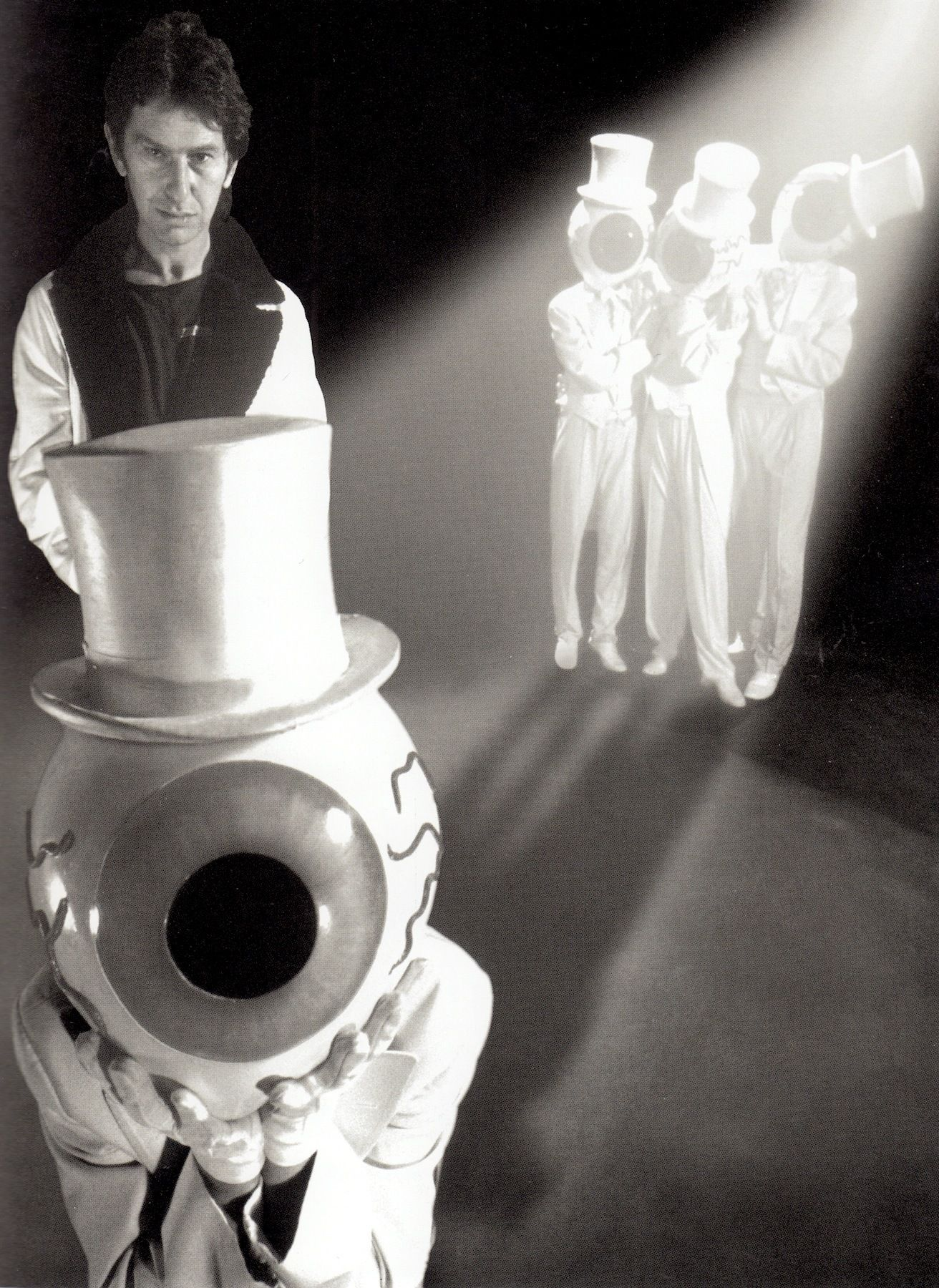 THE RESIDENTS with Snakefinger 1986. The Residents unknown ...