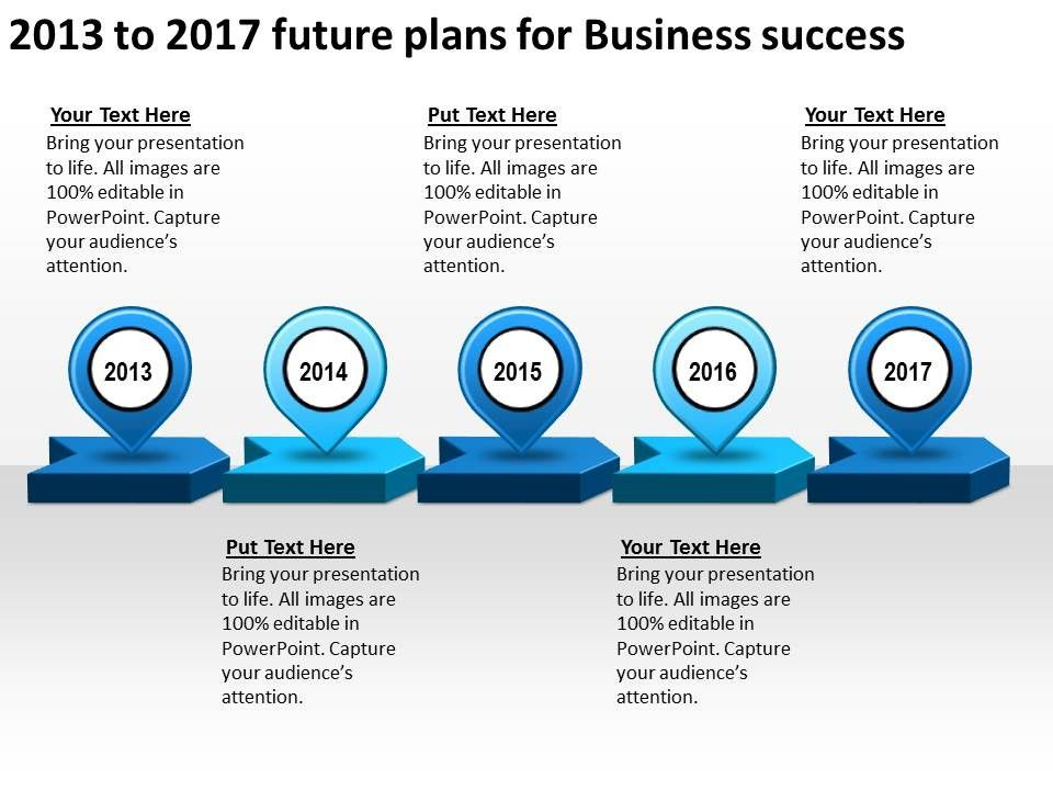 Powerpoint vector google search business journey pinterest product roadmap timeline 2013 to 2017 future plans for business success powerpoint templates slides ccuart Gallery