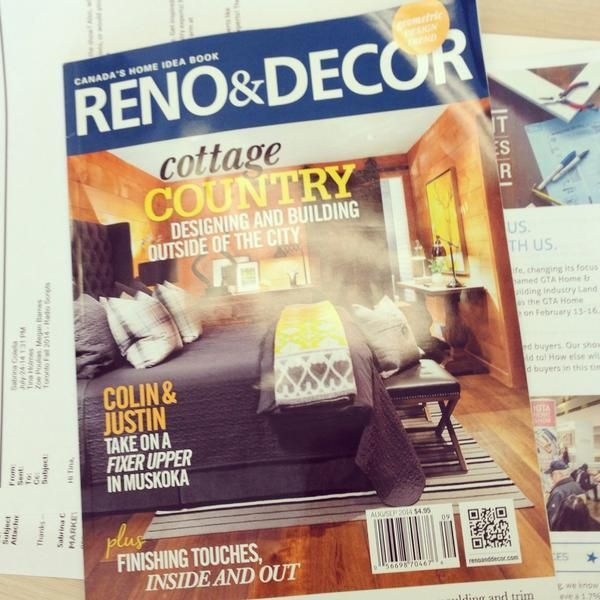 Who doesn't like being a cover girl? Read all about our wee cottage transformation in the current Reno&Decor mag... pic.twitter.com/NyL85ahk0p