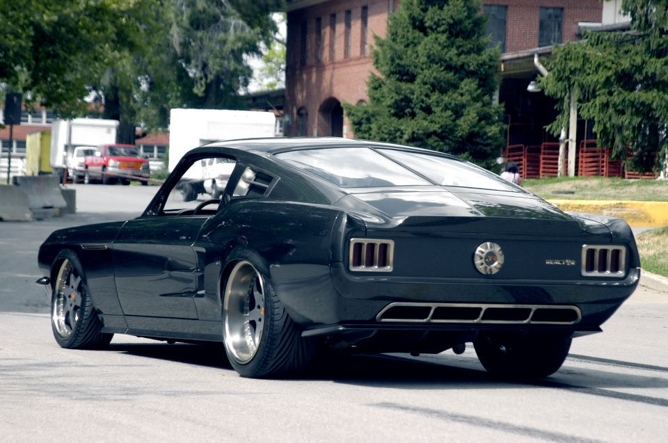 67 Roush Reactor 427 Mustang Fastback Ford Mustang Classic Ford