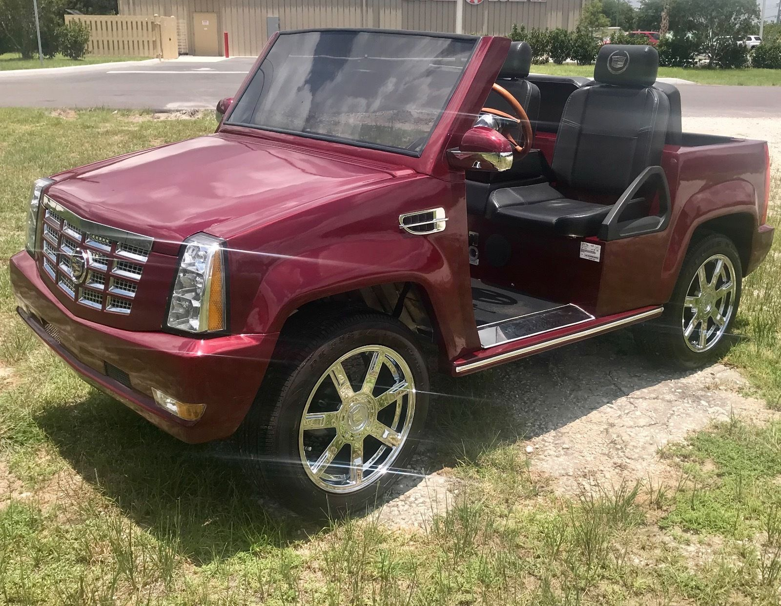 Escalade Golf Cart >> Pin On Golf Carts For Sale