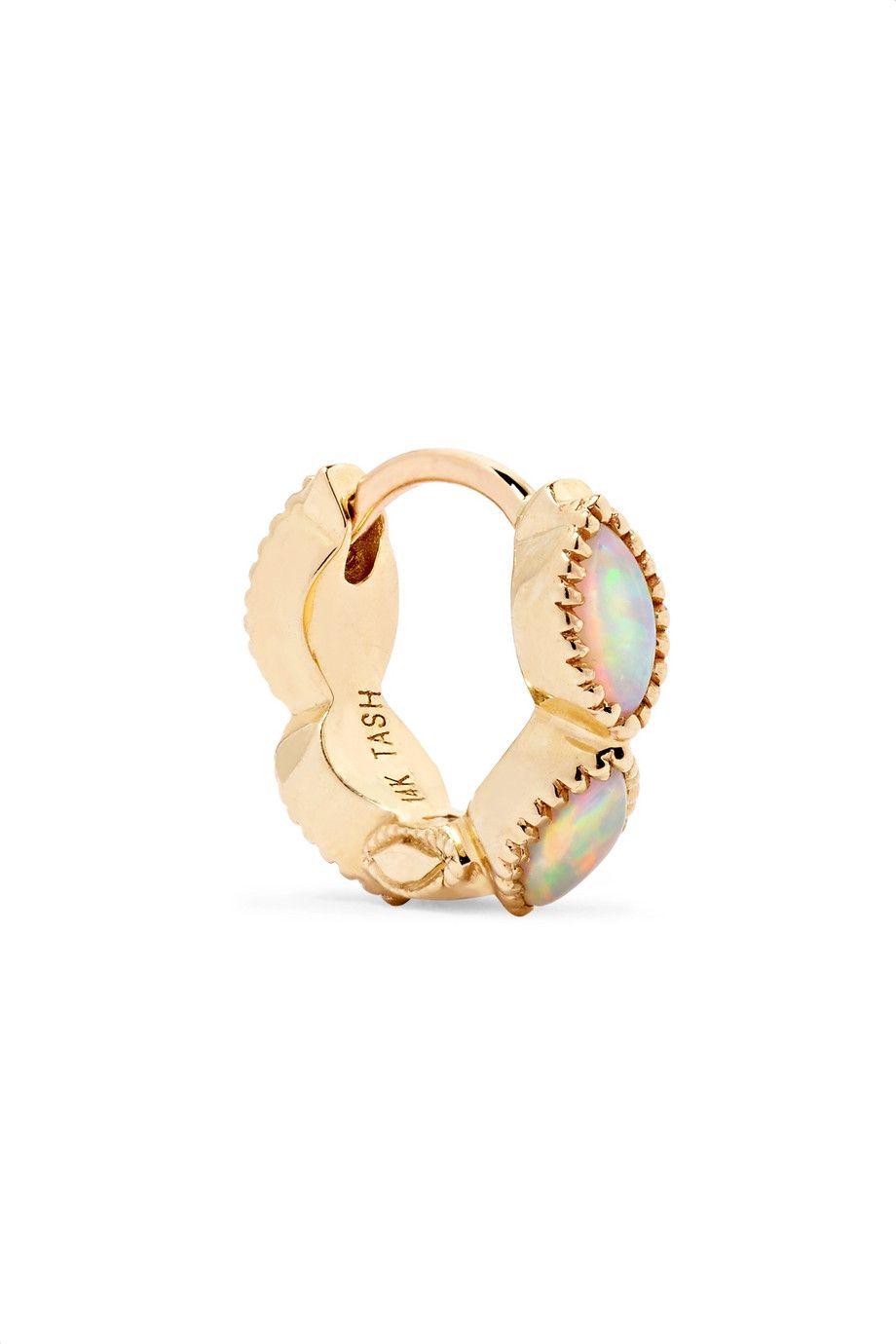 Invisible Eternity 18-karat Gold Diamond Earring - one size Maria Tash uJg2BlM