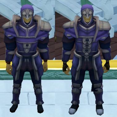Both Male and Female Invictum armours (non upgraded version)