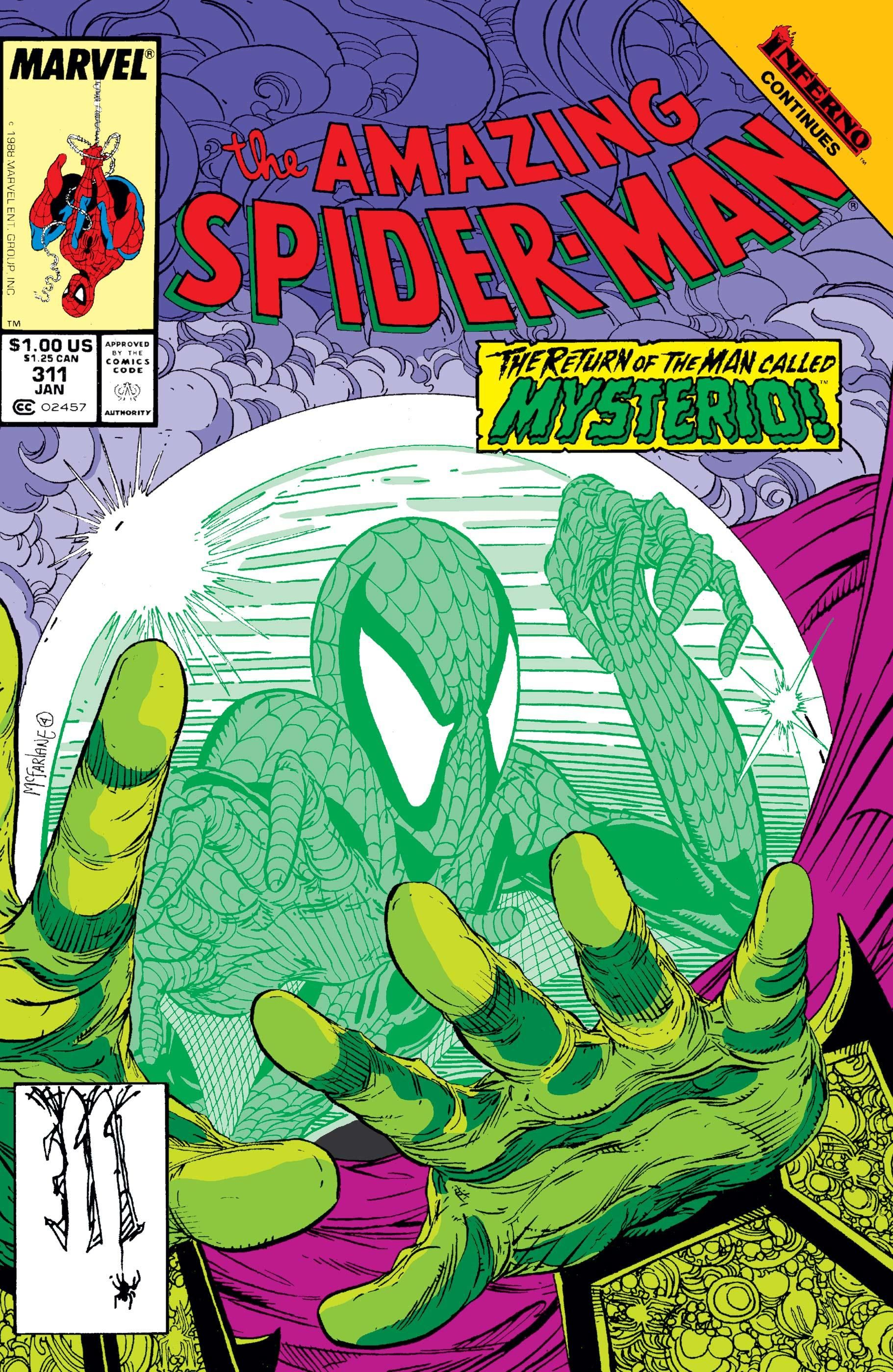 Image result for spider-man mysterio comic cover