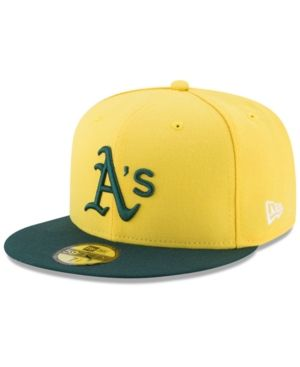 wholesale dealer b8ce8 06b34 ... reduced new era oakland athletics players weekend 59fifty fitted cap  yellow 1ae8c a6cfe