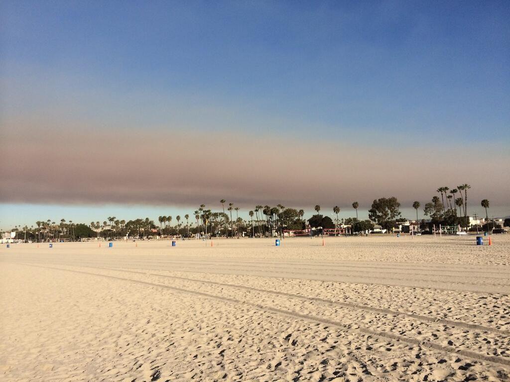 Breaking News On Fires Beach Fire Long Beach