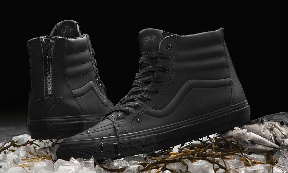 vans waterproof shoes mens