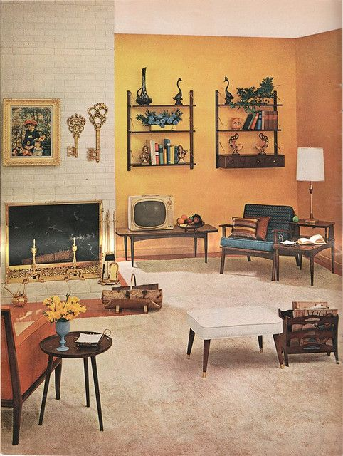 10+ Amazing Vintage Style Living Room