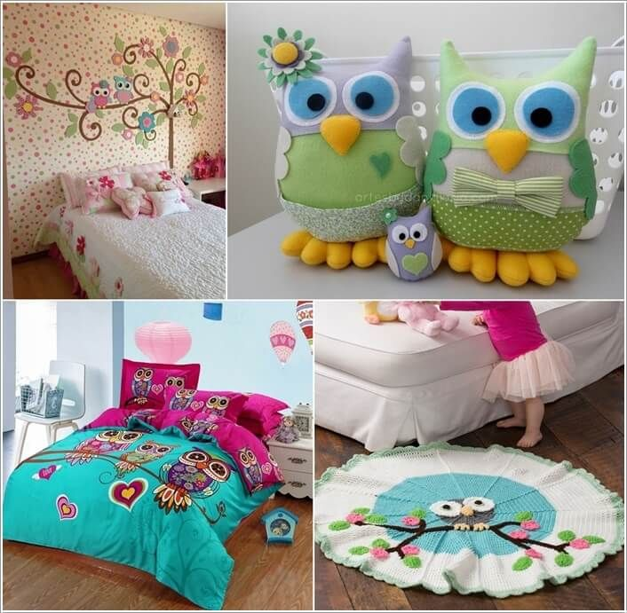 15 Cute Ways To Decorate Your Kidsu0027 Room With Owl Inspiration A