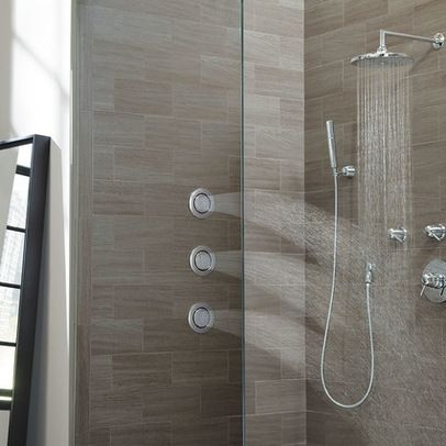 Moen Arris Shower Set Modern Showers Other Metro Moen