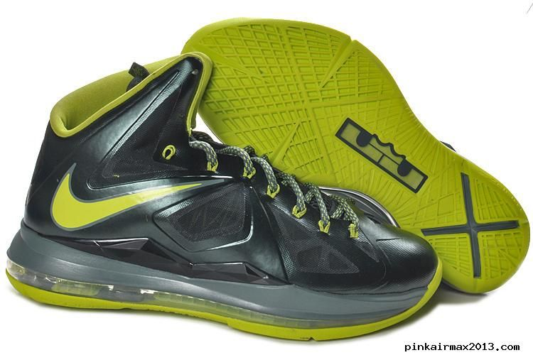 Nike LeBron 10 X Dunkman Atomic Green Deadstock DS Size 7 US Rare New 2013