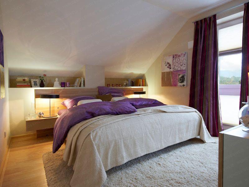 schlafzimmer: siebter himmel unter der schräge - wunderweib.de ... - Wohnideen Schlafzimmer Dachschrge