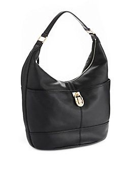 CALVIN KLEIN Modena Pebbled Leather Hobo Bag at TheBay.com WEB ID ...