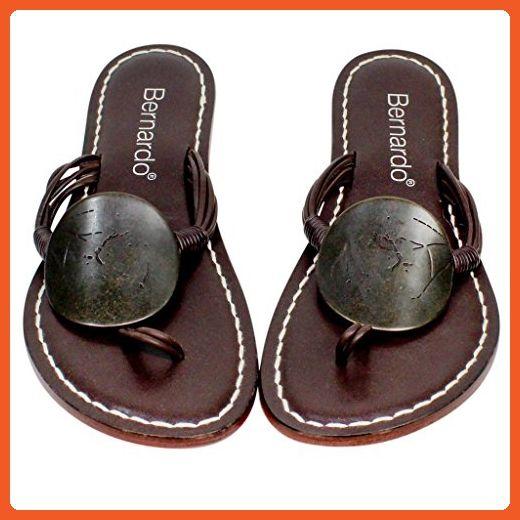 95e9c211204 Bernardo Womens Must Flat Sandal Chocolate 7N - Sandals for women ( Amazon  Partner-Link)