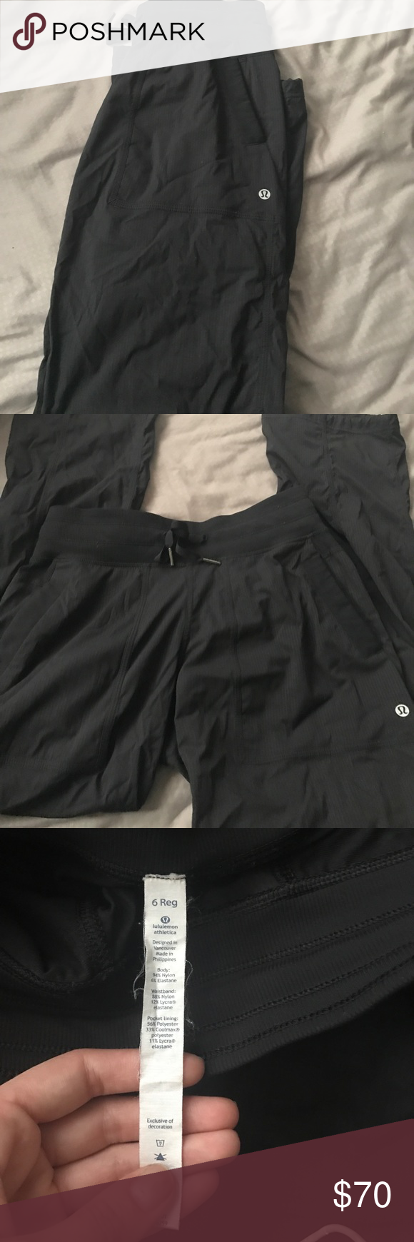 Lululemon joggers Joggers black Other