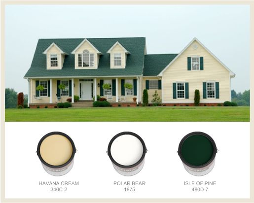 Best Farmhouse Chic House Paint Exterior Metal Roof Houses 400 x 300