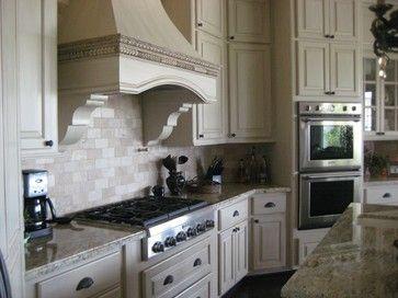 Antique Glazed Kitchen Cabinets