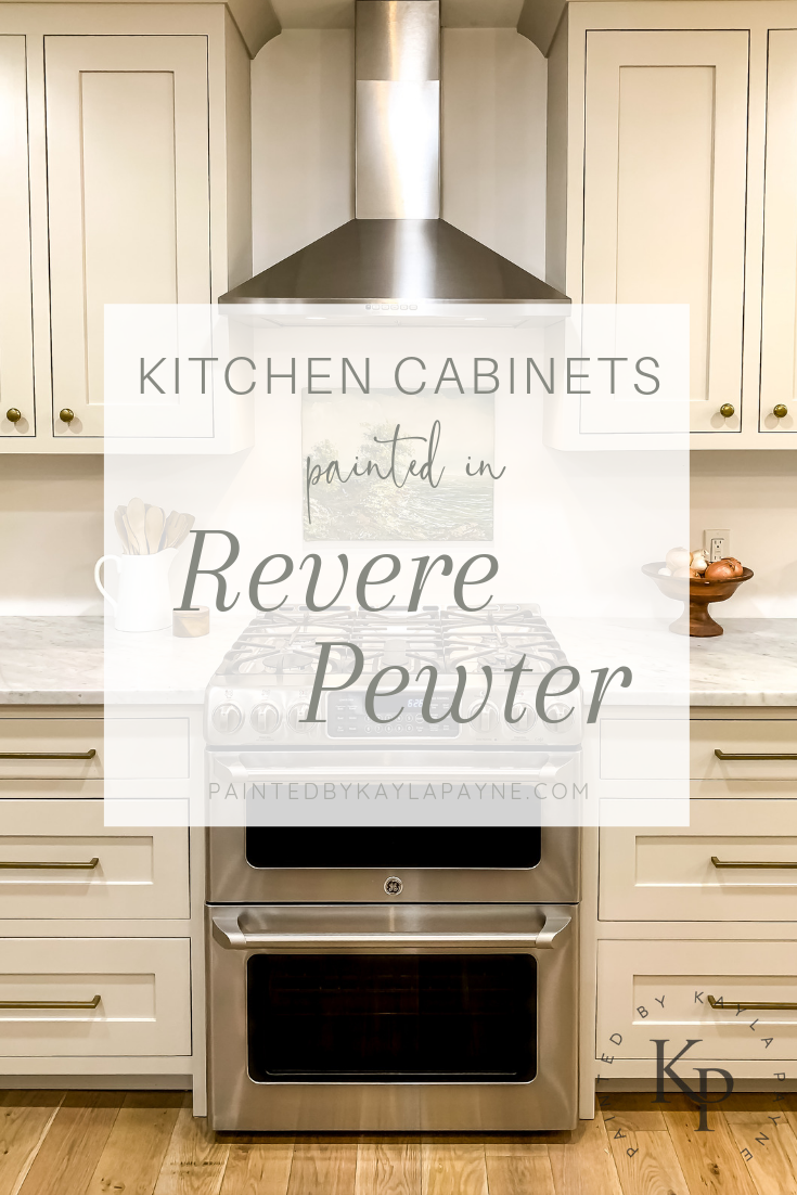 Revere Pewter Kitchen Cabinets Painted By Kayla Payne Revere Pewter Kitchen Painting Kitchen Cabinets Kitchen Renovation
