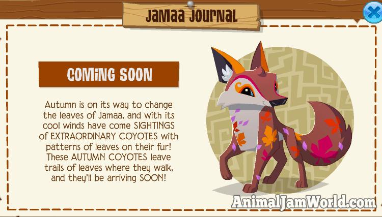Autumn Coyotes In Animal Jam Codes More Animaljam Animals Autumncoyote Animal Jam Animal Jam Codes Animal Jam Play Wild