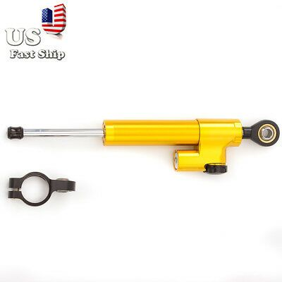 330MM Universal Steering Damper Stabilizer Reversed Safety Control Motorcycle