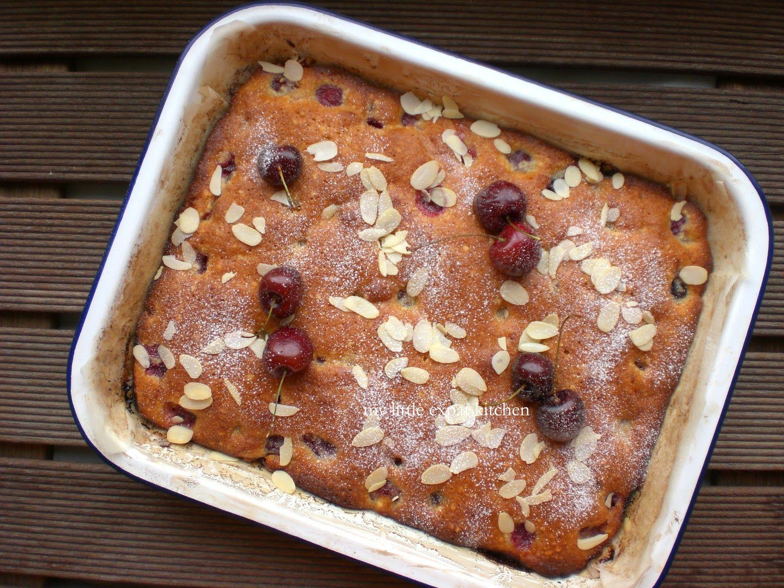 My Little Expat Kitchen: Cherry. Almond. Cake.