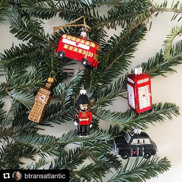Have Fun Decorating Your Tree Btransatlantic Thanks For Sharing Your Little London Collection With Us Christmas Decorations Glass Bauble Holiday Decor