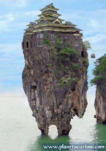 casas curiosas de altura