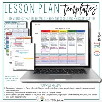 Lesson Plan Templates {Google Digital Resource} Projects to Try