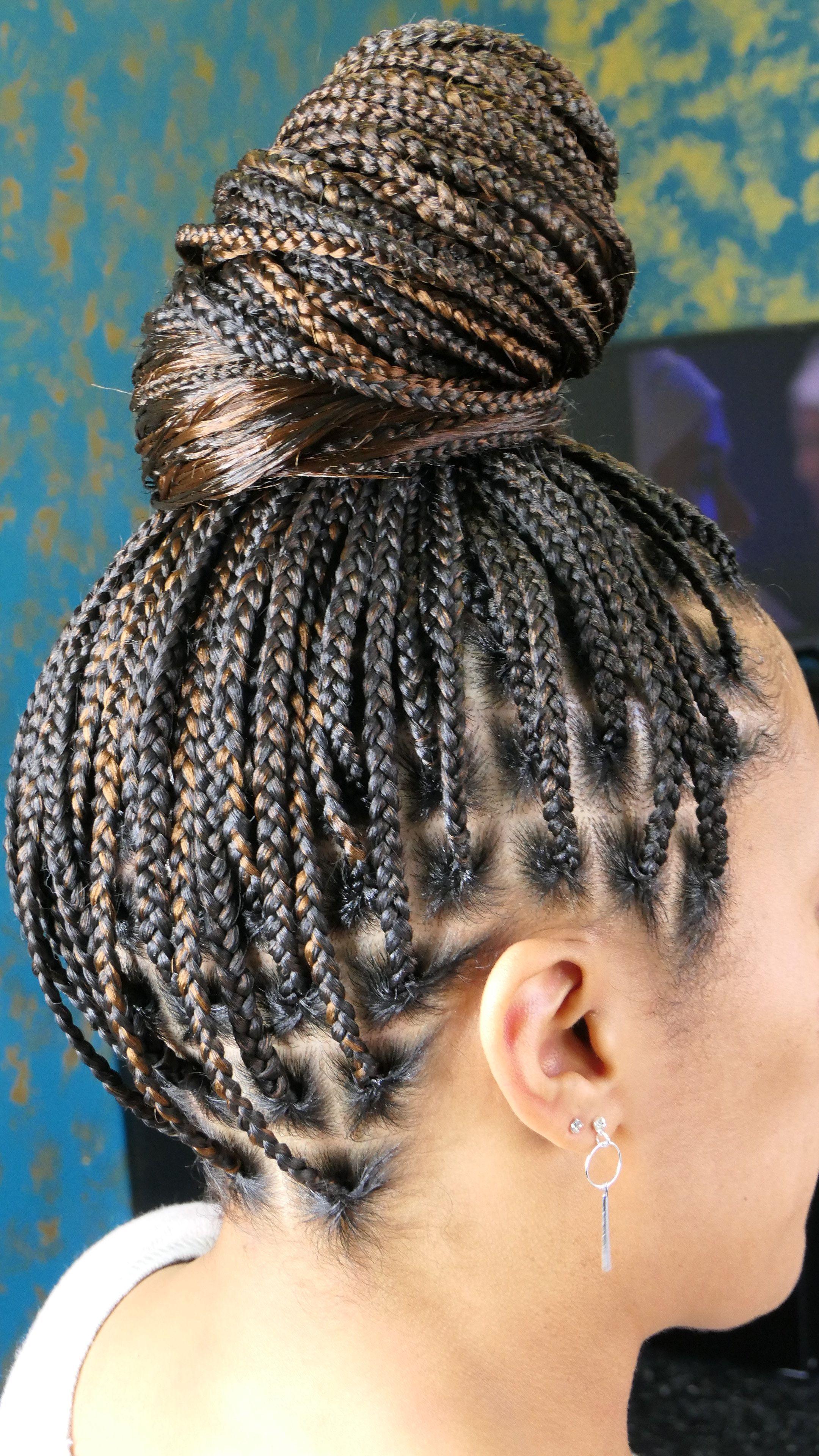 Knotless Braids Braided Hairstyles Updo Box Braids Styling Twist Braid Hairstyles