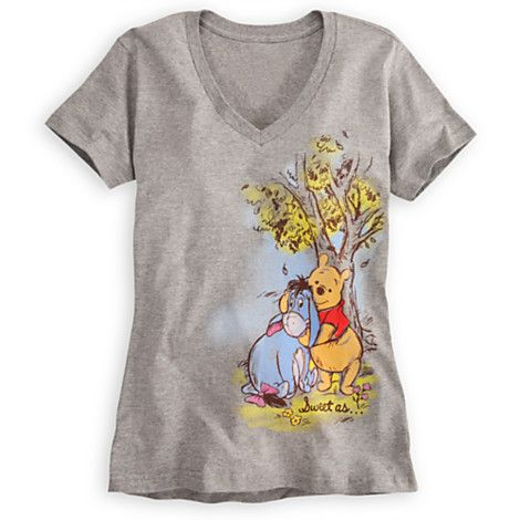 5dd18958 Winnie the Pooh and Eeyore Tee for Women   Tees, Tops & Shirts   Disney  Store