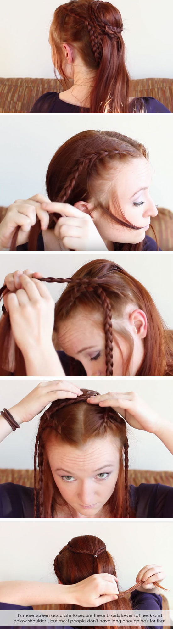 Hairstyles Games Interesting 18 Diy Game Of Thrones Inspired Hairstyles  Medieval Princess