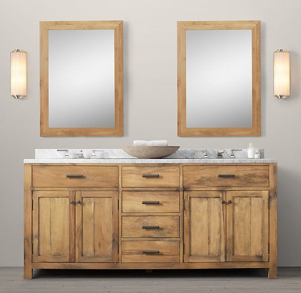 Logan Double Vanity Sink Restoration Hardware.