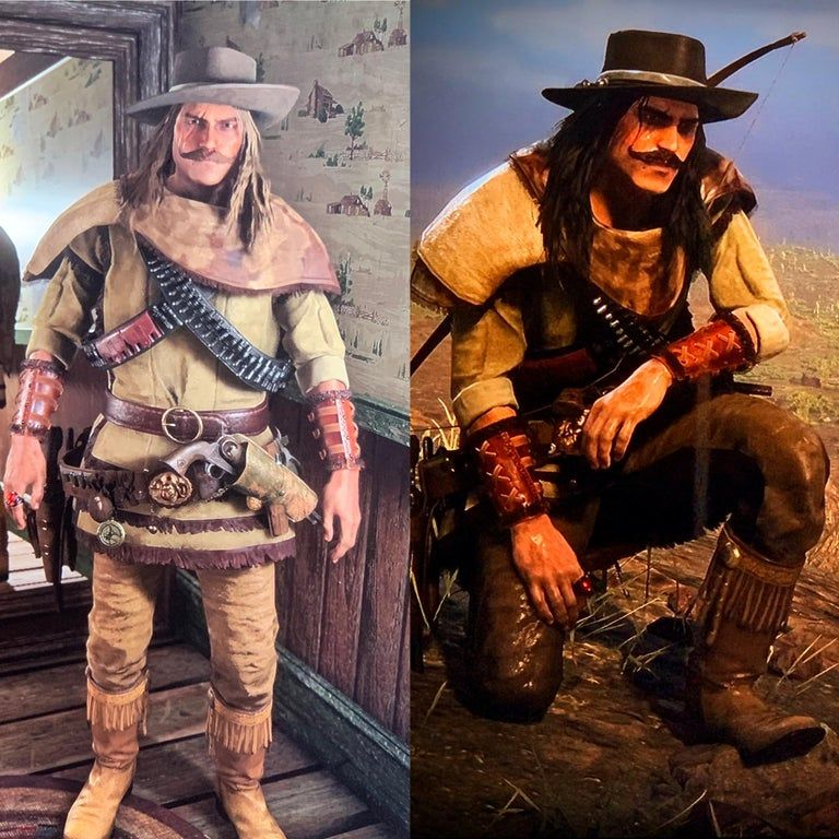 First Custom Outfit For Rdr Online Reddeadfashion Red Dead Redemption Red Dead Online Red Dead Redemption Ii