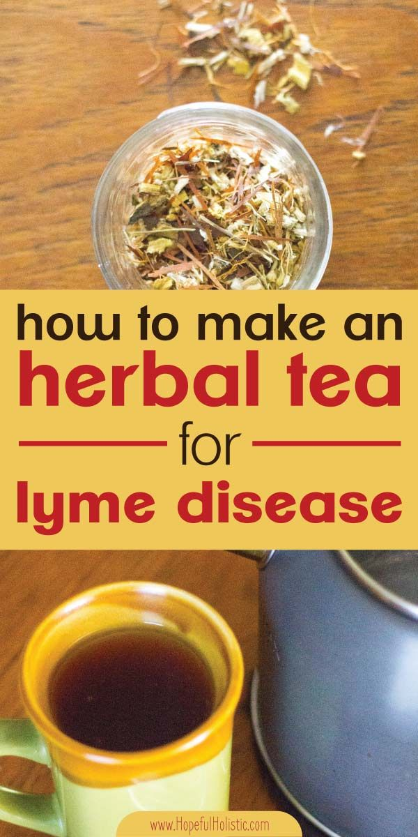 Lyme disease herbal tea #naturalcures