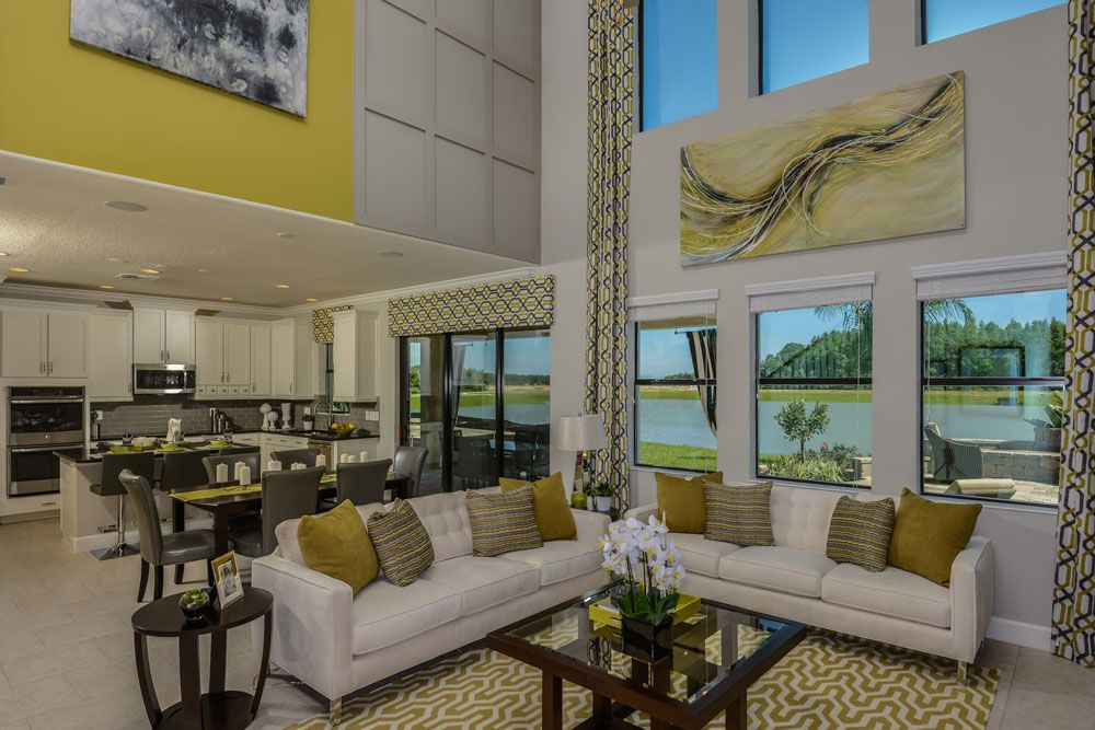 K. Hovnanian Model Homes Interiors | ... Living And Lifestyle Model  Exterior Airy