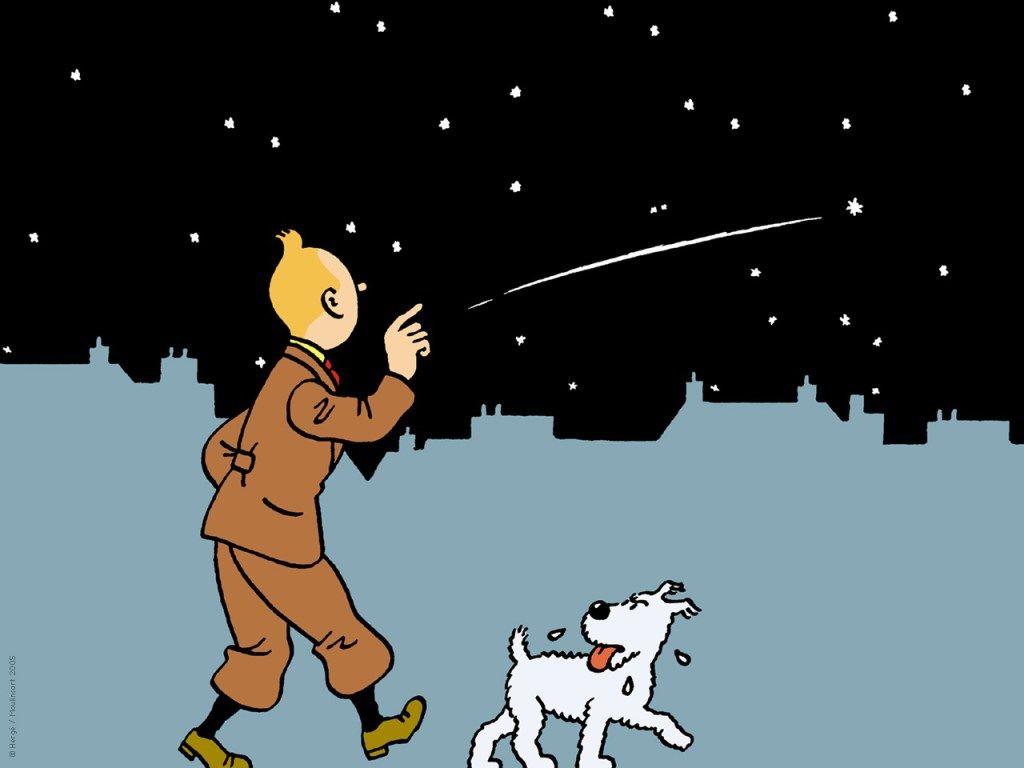 Fonds D Ecran Etoile Mysterieuse Tintinomania Dessin Anime Etoile Mysterieuse Fond Ecran