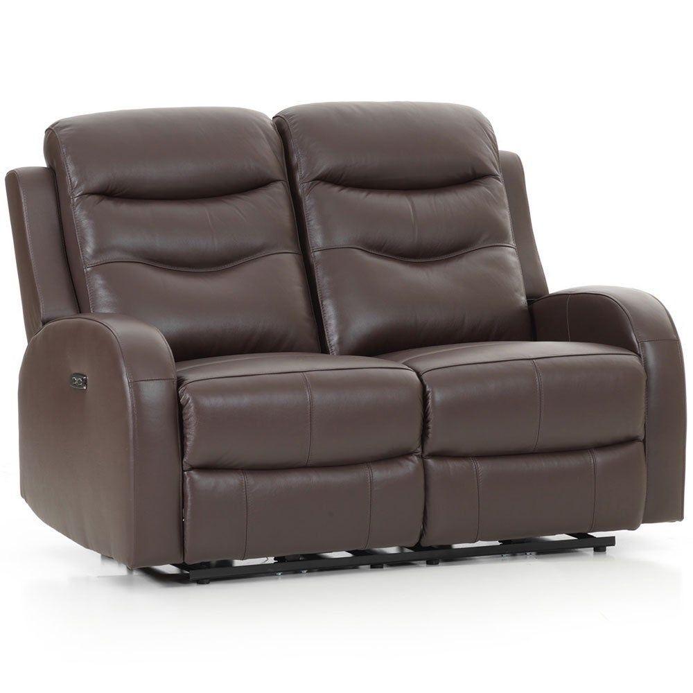 Brilliant Milano Leather Chocolate Power Reclining Loveseat Brown Frankydiablos Diy Chair Ideas Frankydiabloscom