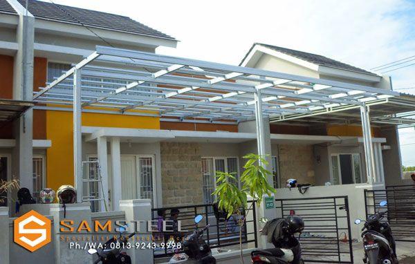 Biaya Membuat Garasi Mobil Dengan Baja Ringan Harga Pasang Atap Semarang